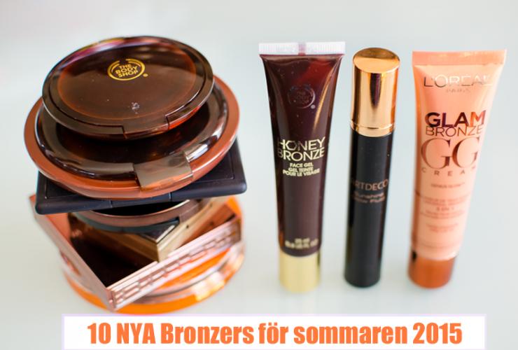 Test: 10 Bronzers för Sommaren 2015