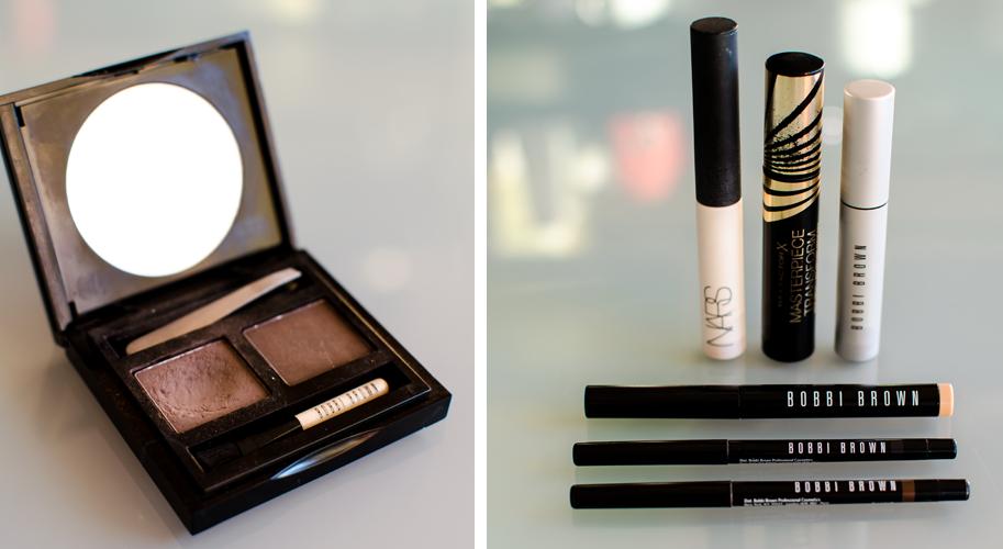 2014 Bästa Mascara Eyelier Primer och ögonbrynsskuggor
