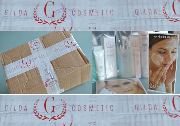 Hud och kroppsvård från Gilda Cosmetics. All Sweet In Life testar en specialanpassad hudvårdsrutin
