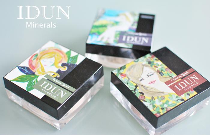 Alla produkter du behöver för en flawless bas från IDUN Minerals