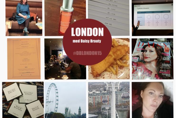 Skönhetskonferens i London med Daisy Beauty