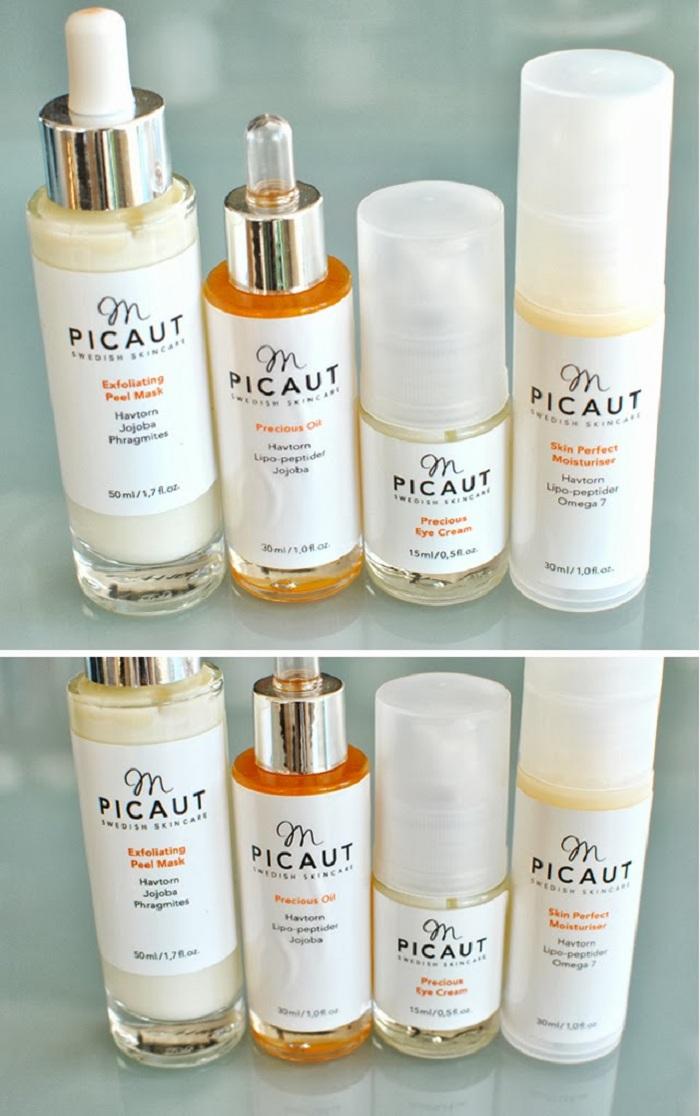 En gångång med recensioner på alla Mette Picauts produkter