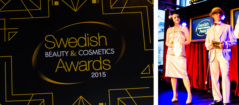 Swedish beauty and cosmetic awards 2015