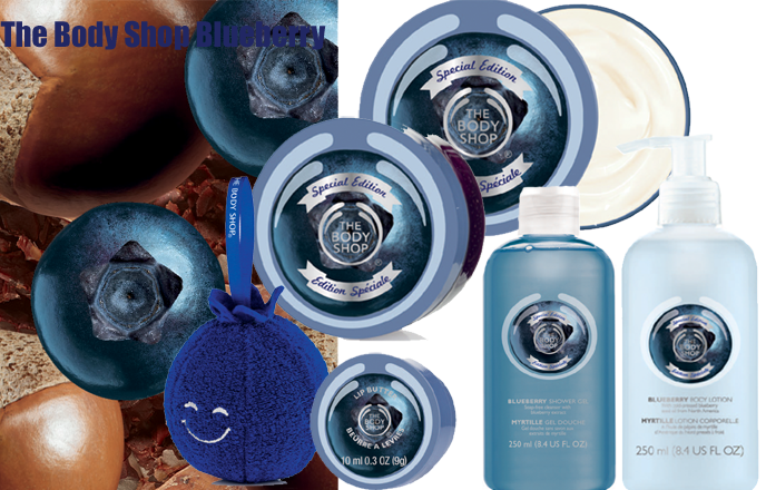 The body shop lanserar Blueberry kollektion