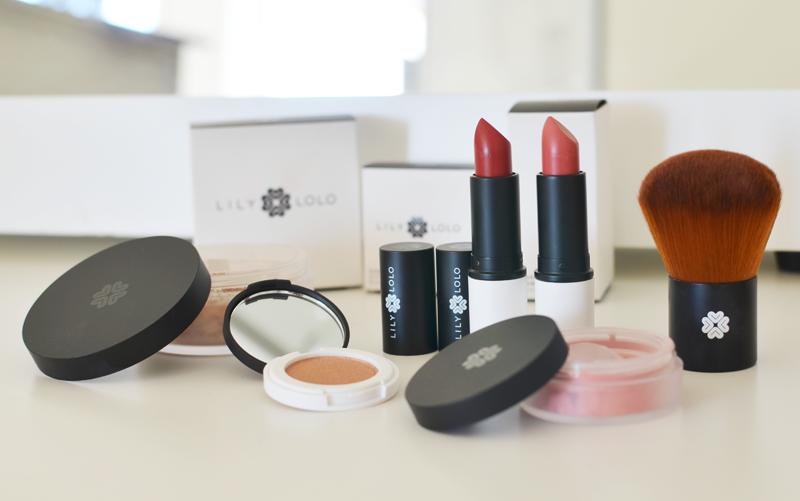Lily Lolo produkter med deras nya grafiska profil