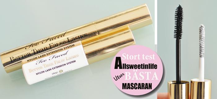 Mascara test: Foo Faced Better Than False Lashes Mascara
