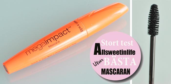 Test av Wet n Wild Mega Volume Mascara. Är den bästa Mascaran?