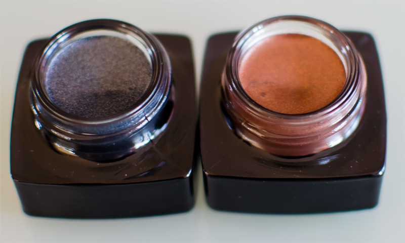 Här ser du bild på Bobbi Brown Long Wear Gel Sparkle Thunderstorm och Sunlit Bronze