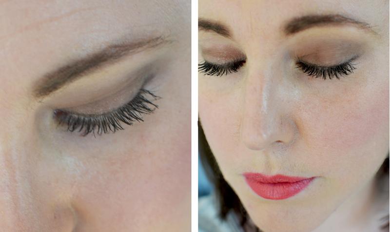 Närbild på ögonmakeup och mascara på makeup med bara Bobbi Brown produkter