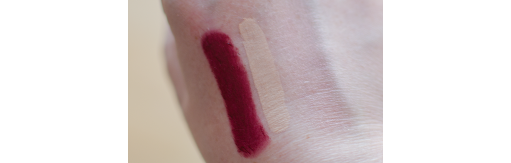 Bobbi Brown rich lip color crimson 16 swatches