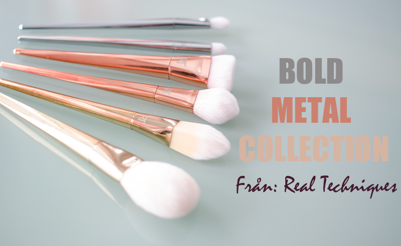 Bold Metal Collection From Real Techniques