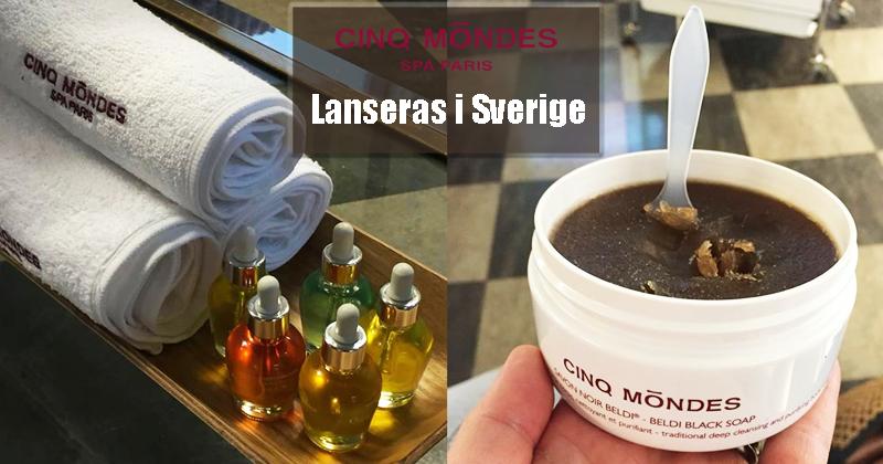 Cinq Mondes lanseras i Sverige