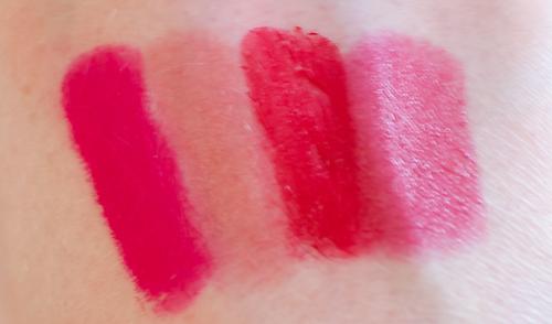 Clinique Color Pop Lipstick Swatches
