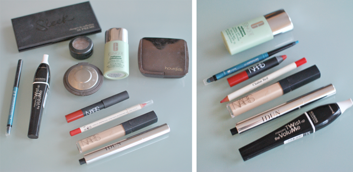 Till dagens sminkning använde jag bland annat Sleek Makeup Supreme Palette och Nars läppenna Cruella