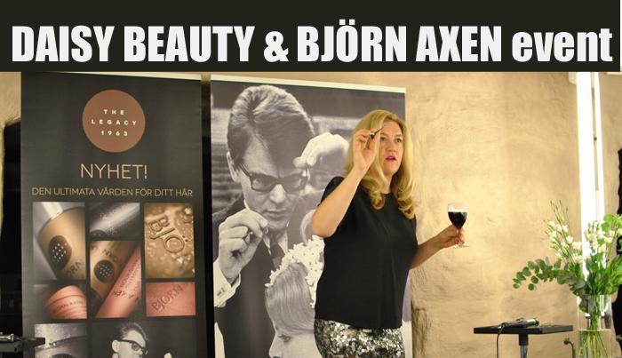 Event med Daisy Beauty, Björn Axen och OBH Nordica