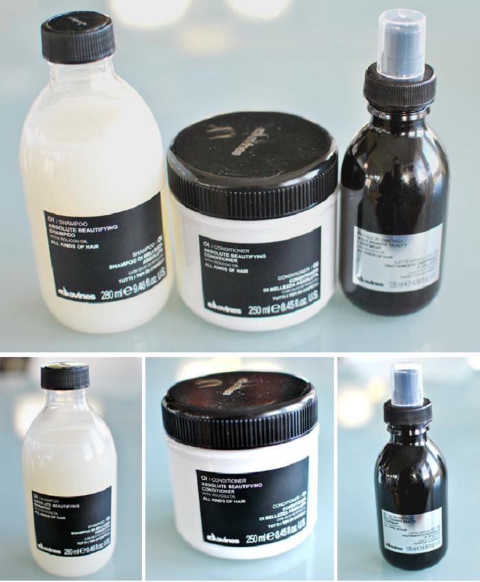 Oi Serien innehåller roucou-olja som vårdar håret