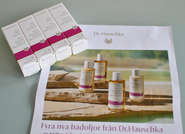 Dr Hauschka släpper fyra nya badoljor