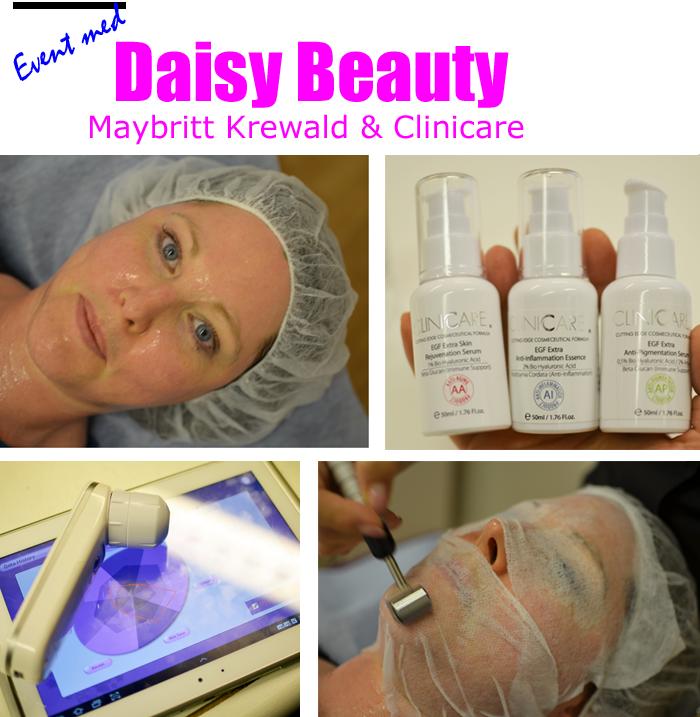 event-med-daisy-beauty-majbritt-krewald-och-clinicare