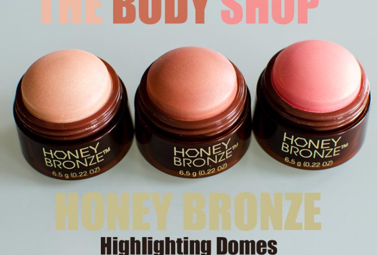 Honey bronze Highlighting Domes från The Body Shop