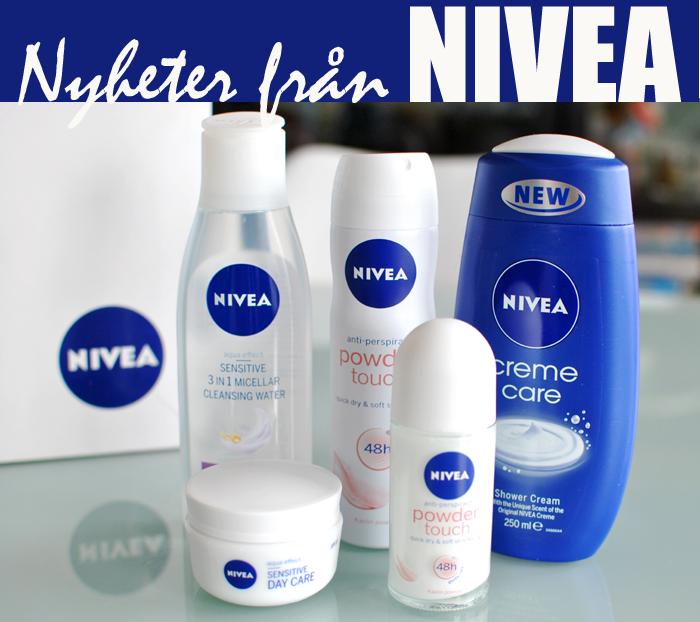 NIVEA presenterar nyheter (släpps i Januari)