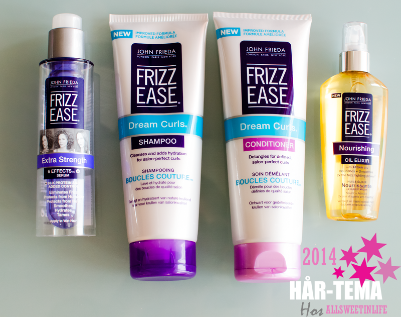 Recension av John Frieda Frizz Ease Kollektion