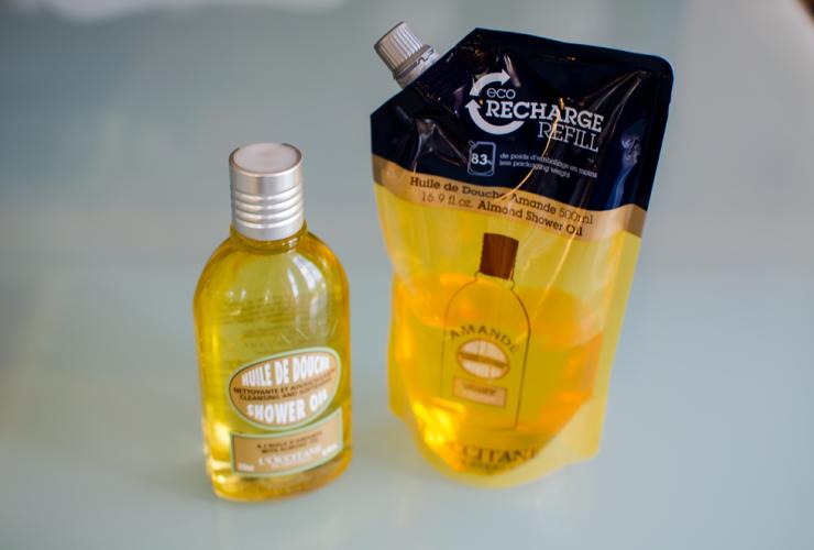 Loccitane Mandel duscholja – Refill