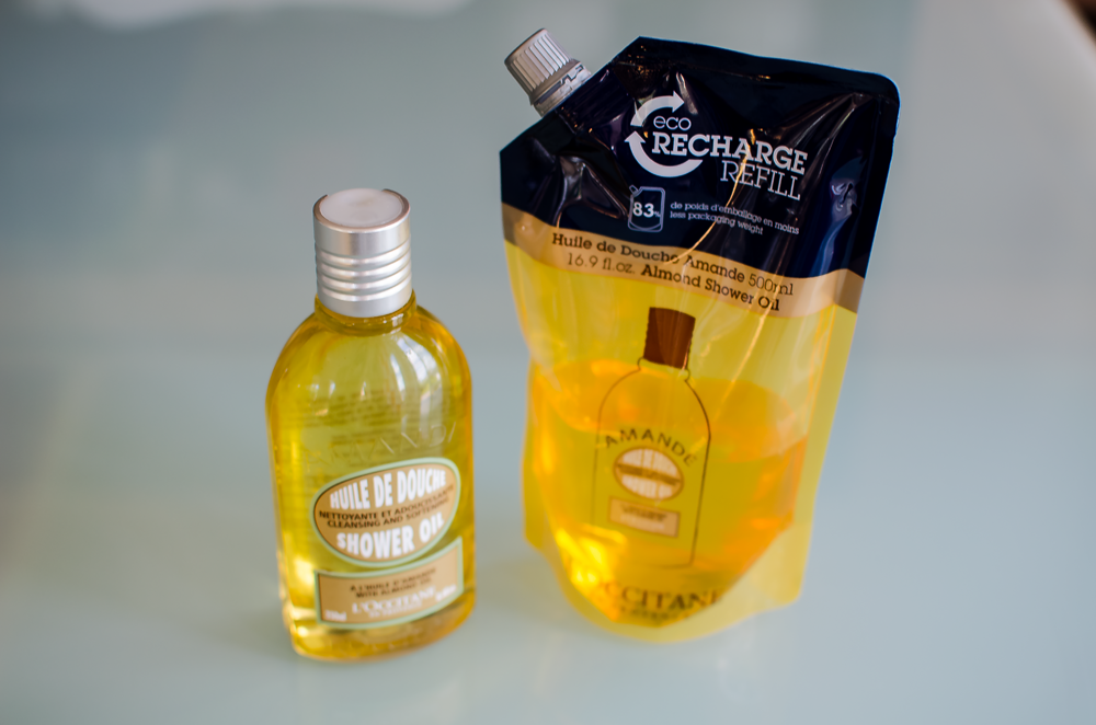 Loccitane almond shower gel