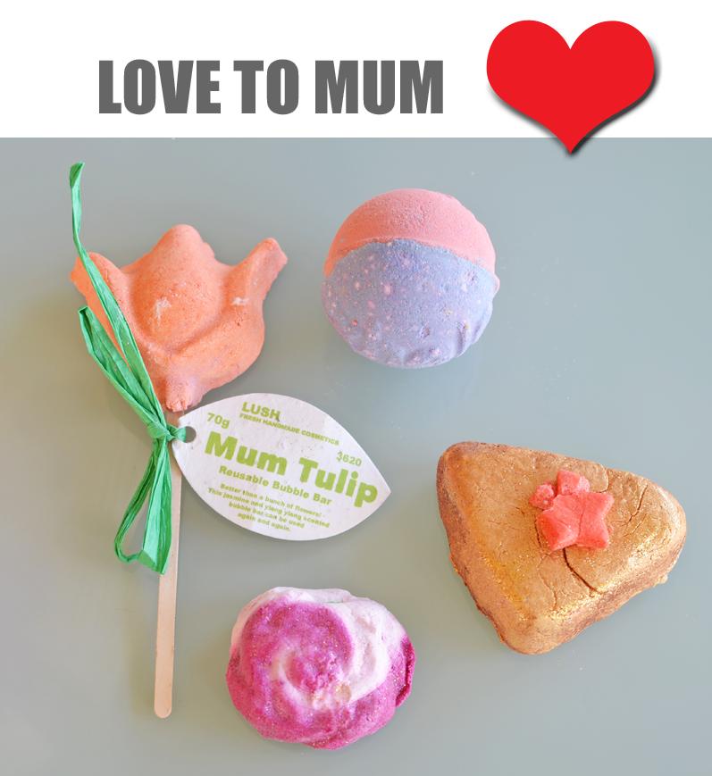 Lush har perfekta presenter till Mamma på Morsdag