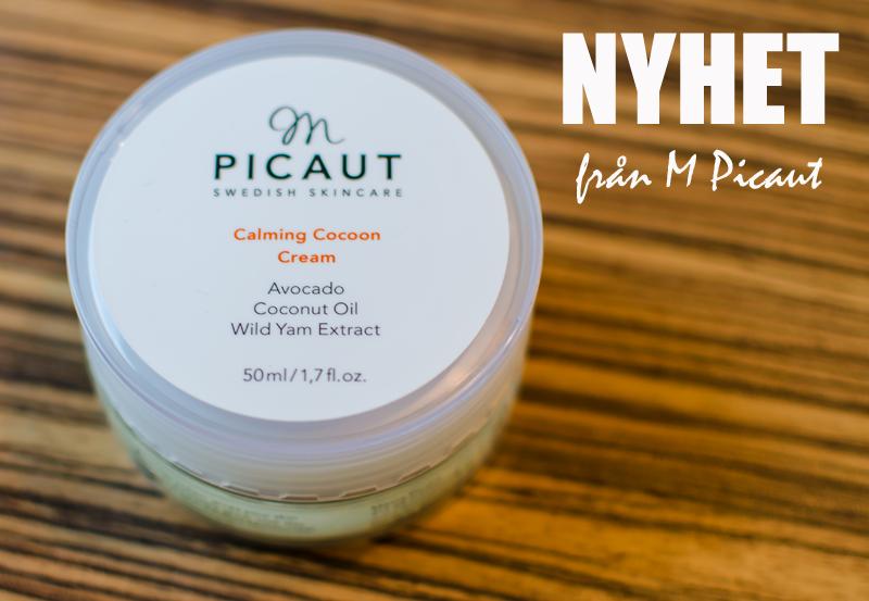M Picaut släpper calming cocoon cream - en ansiktskräm för riktigt torr hud.