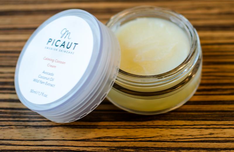 ansiktskrämen calming cocoon cream från M Picaut