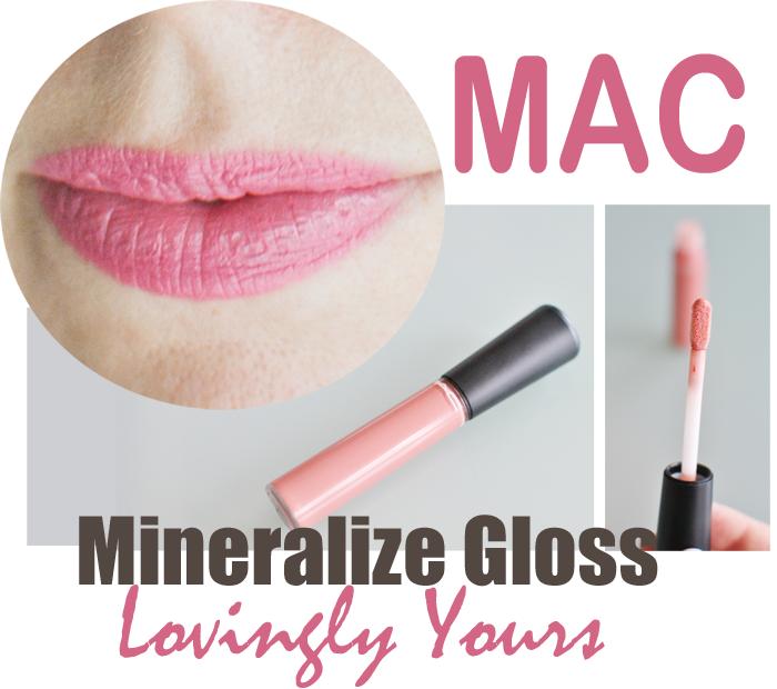 Mac släpper nya Mineralize Lipgloss den 8mars. På Bilden Lovingly Yours