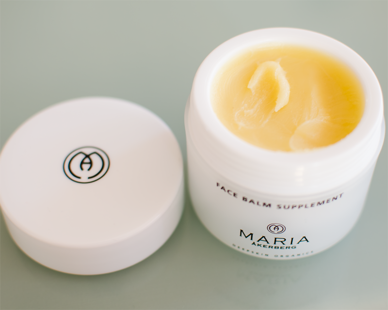 Test av Maria Åkerberg Face Balm Suppliment