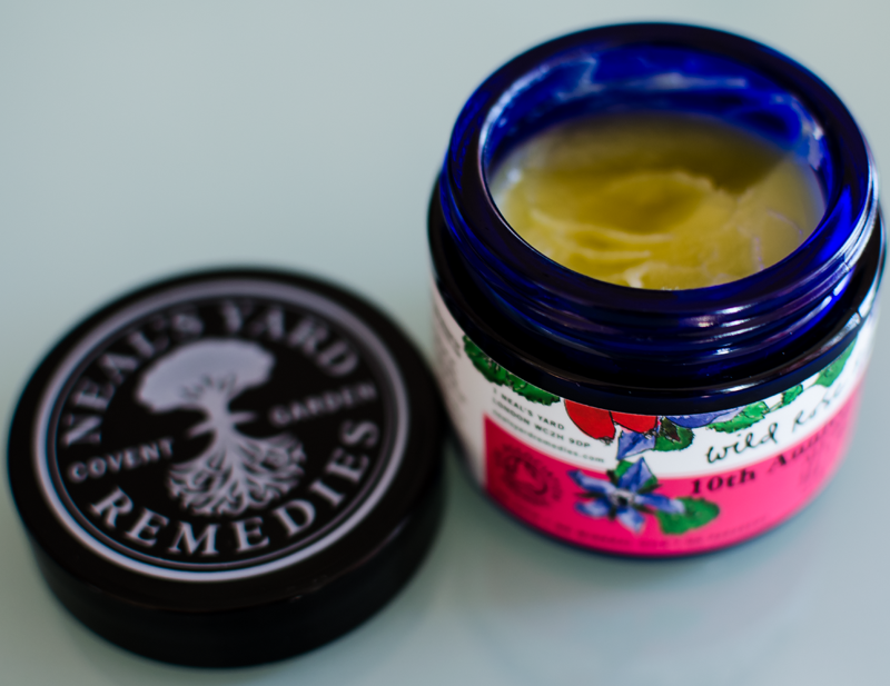 Test av Neal Yards WIld Rose Beauty Balm
