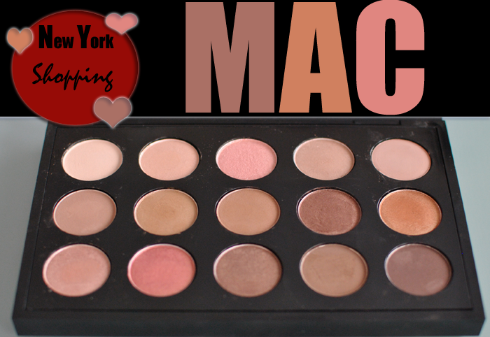 New York shopping haul Mac