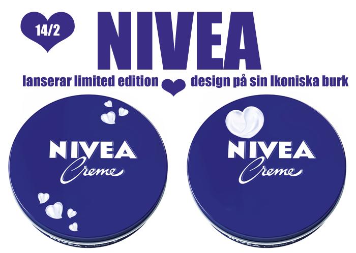 Nivea ger ut limited edition variant på sin ikoniska burk till alla hjärtans dag
