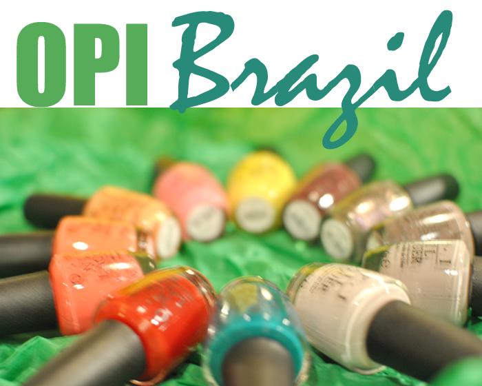 OPI Brazil Kollektion våren 2014. All sweet in life visar upp kommande kollektion från OPI: