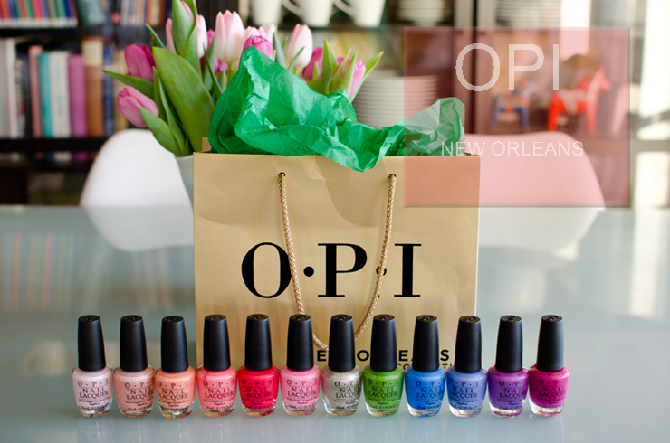 OPI New Orleans kollektion SS16