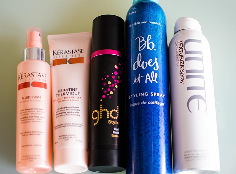 Bra produkter när du lockar håret