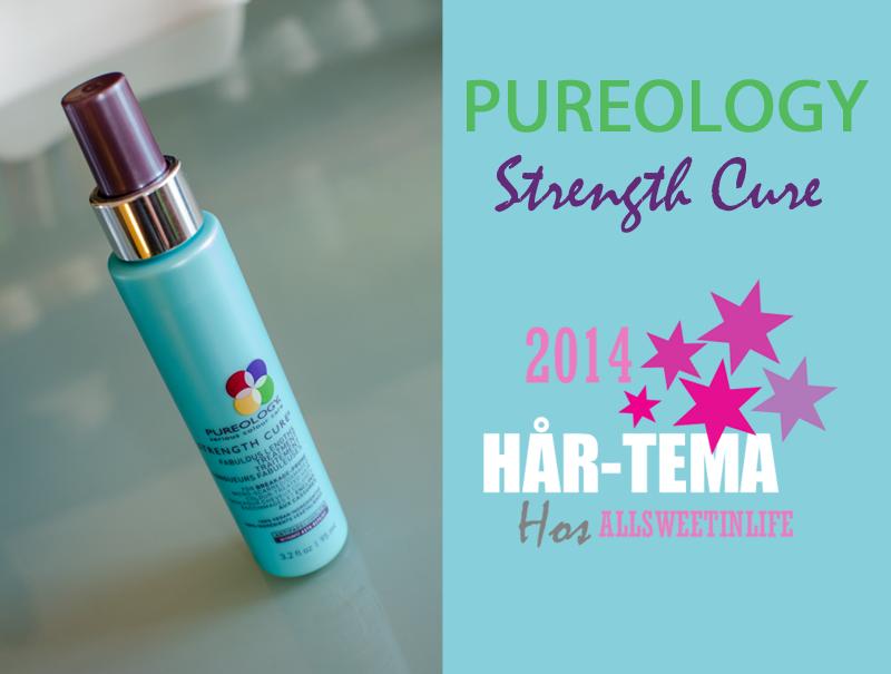 Recension av Pureology Strenght Cure
