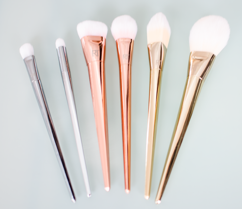 Real Techniques Bold Metal Collection Makeup Brushes
