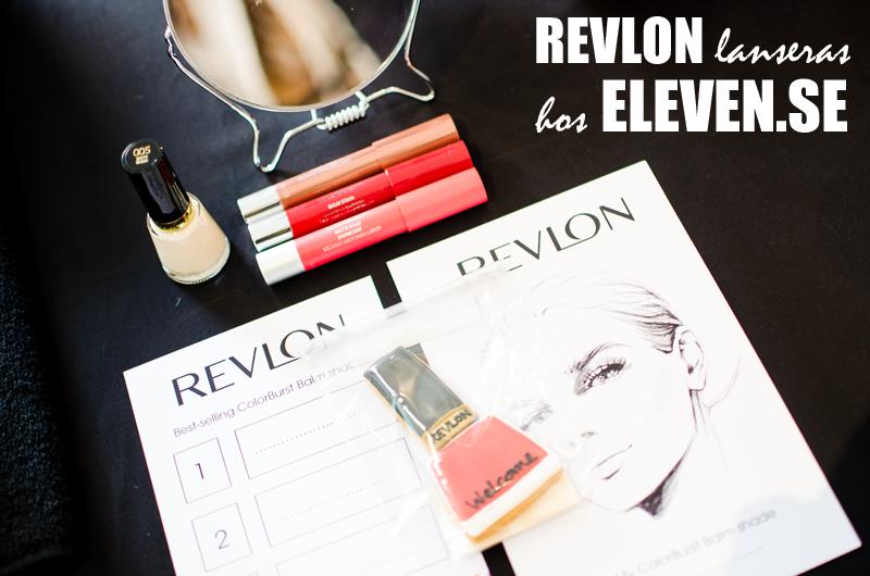 Revlon Lanseras hos Eleven.se den 15 oktober