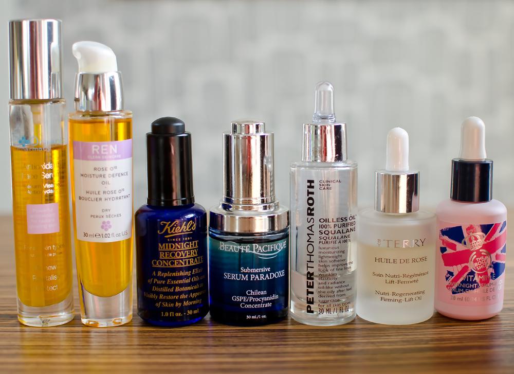 Torr hud - Serum och oljor för torr hud