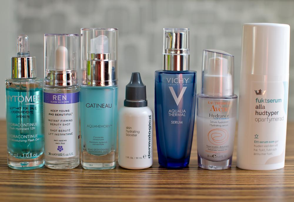 Yttorr, fuktfattig och uttorkad hud - 7 serum som hjälper dig