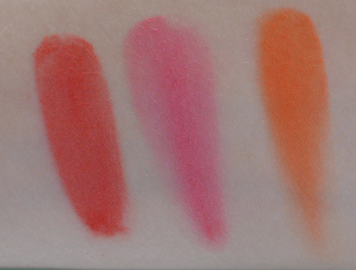 Sleek Pumpkin palette swatches