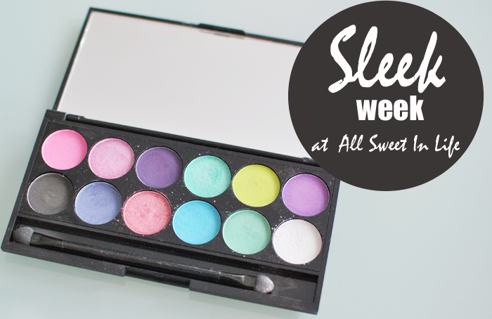 Sist ut i Sleek Week är I divine Candy paletten