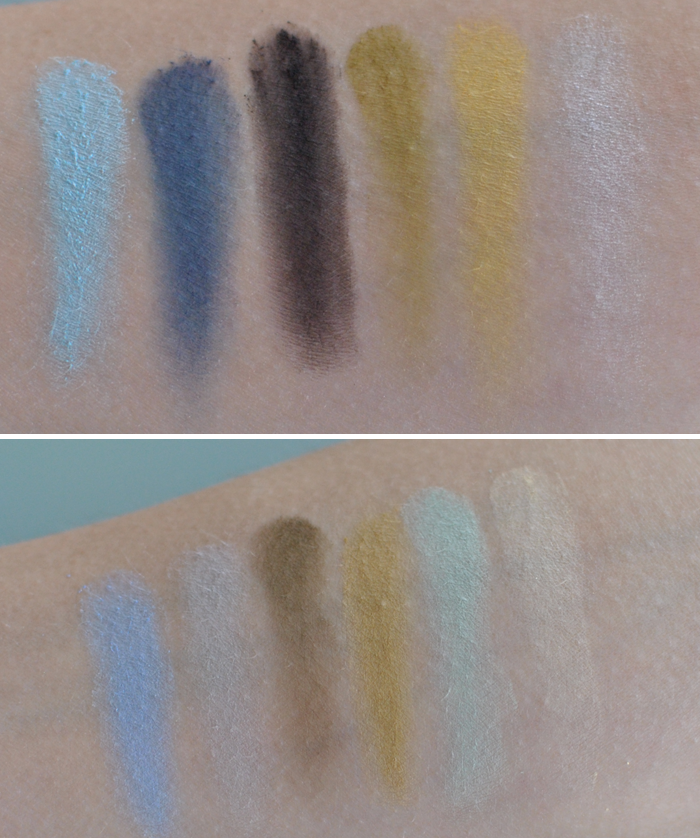 Swatches på Sleek Makeup PPQ Supreme