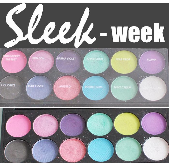 Närbild på Candy Paletten ifrån Sleek Makeup