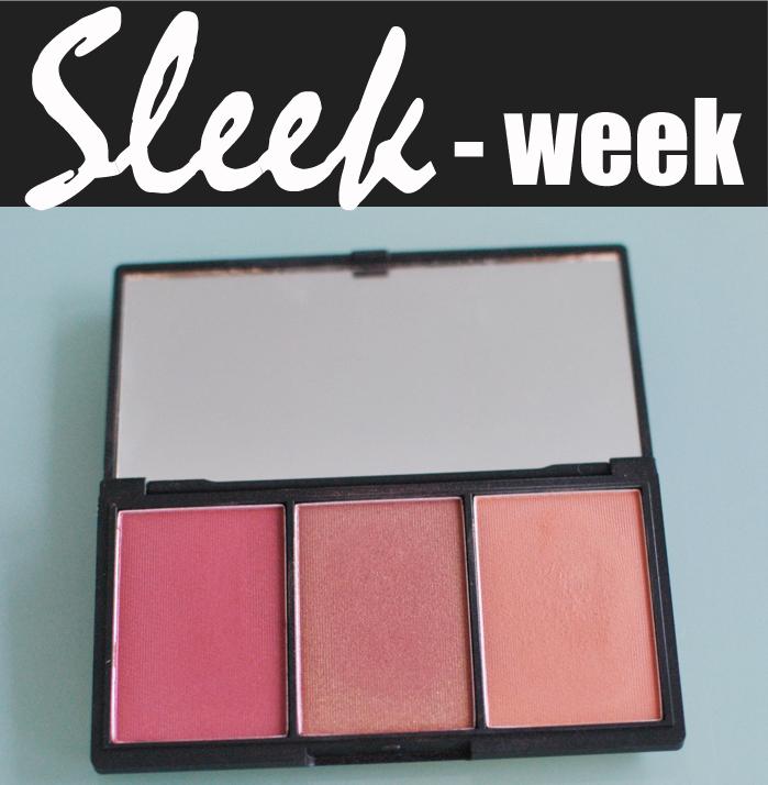 Sleek Week drar igång idag och först ut är Rouge paletten Sugar