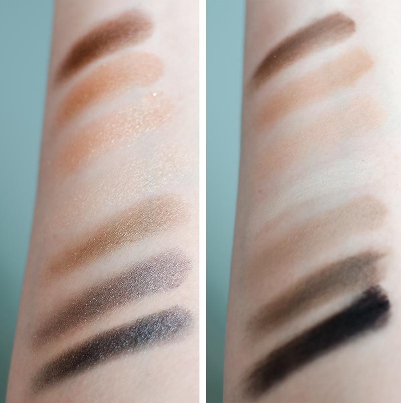 Smashbox full exposure eyeshadow palette swatches