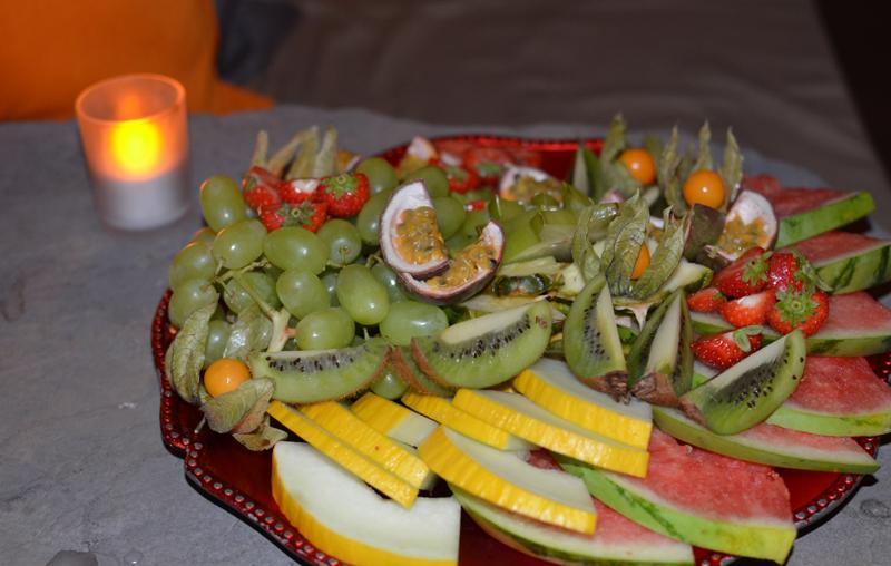 Sparadiset frukt på Spaavdelningen